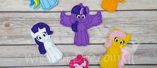 My Little Pony Felt Finger Puppets