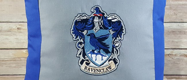 Ravenclaw Crest Pillow