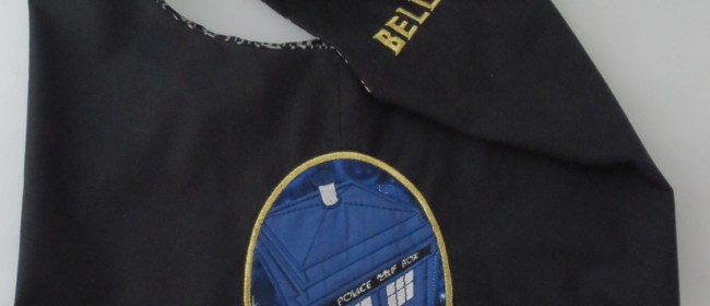 Bells TARDIS Sling Bag
