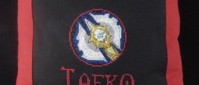 Taeko Death Knight Pillow