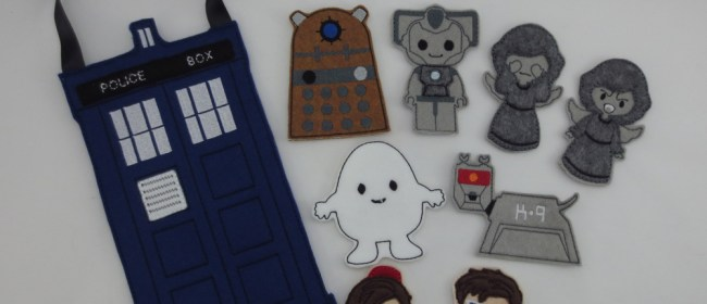 Doctor Who Finger Puppets