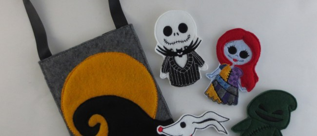 Nightmare Before Christmas Felt Finger Puppets