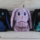 Personalized Sibling Bunny Stuffies