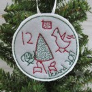 Child's Drawing Felt Ornament