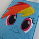 Rainbow Dash Felt Bag