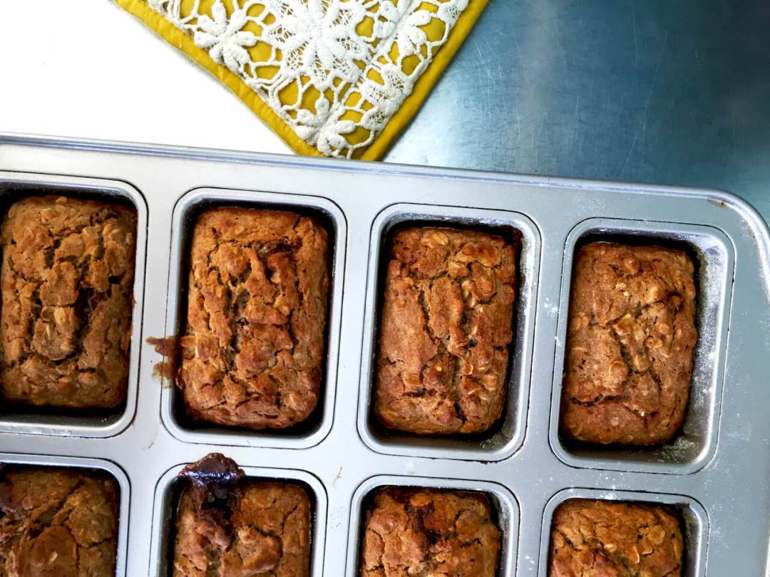 Best Banana Muffins, Gluten free, vegan, perfect, breakfast muffins,