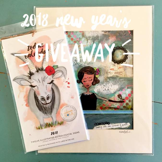 And our 2018 New Year's Giveaway Winner is….