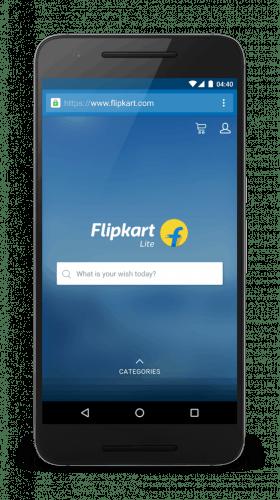 flipkart pwa