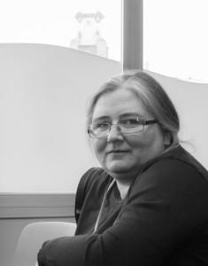 Марія Дроздек, перша в Польщі вікіпедистка-резидентка (фото Роберт Друзд, CC-BY-SA 3.0)
