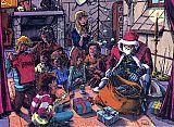 besinnliche Weihnacht als Illustration
