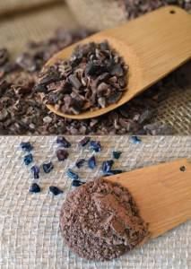 What's The Difference Between Cacao Powder & Cacao Nibs? | All chocolate begins as cacao, but what form? Nibs? Powder? Fermented or non-fermented? It can be confusing! This post makes it easy to understand the difference between cacao powder and cacao nibs. | WildernessFamilyNaturals.com