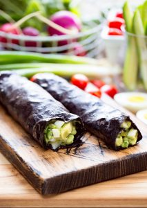 Clean-Eating Avocado Nori Rolls   There's no sense in changing your food choices in the coming year if you don't have some delicious and nutritious recipes to help you reach your goals. After all, healthy food does NOT have to taste like cardboard. Full of flavor and healthy fats from eggs and avocado, these simple avocado nori rolls are light, yet satisfying. They're quick and easy to whip up, too!   WildernessFamilyNaturals.com