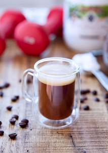 Frothy & Creamy Power Coffee (with coconut oil!) | Healthy fats -- grass-fed butter and WFN's cold-pressed coconut oil -- elevate coffee into a creamy, thick, and frothy cup o' joe to fill and satisfy for the whole morning. Coffee with coconut oil...who knew?! | WildernessFamilyNaturals.com