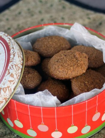 Gluten-Free Ginger Molasses Cookies | If you need something in a hurry for unexpected guests or extra family members, these ginger molasses beauties are just the ticket. These soft cookies come together quickly and are full of the traditional ginger molasses flavor. | WildernessFamilyNaturals.com