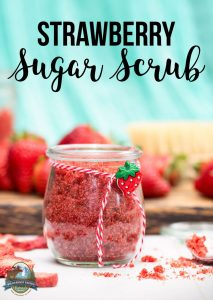 Strawberry Sugar Scrub