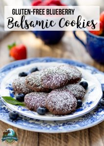 Gluten-Free Blueberry Balsamic Cookies