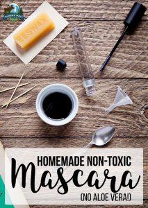 Homemade Non-Toxic Mascara (no aloe vera!)