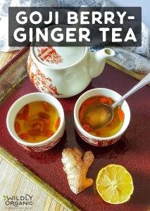 Goji Berry-Ginger Tea