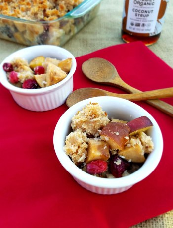 Fall air is clean, clear, and chilly -- perfect for hunkering down for a long winter's rest. The best comfort foods are the nostalgic foods, like Grandma's apple crisp. Swap out the unhealthy ingredients for wholesome, nutrient-dense ingredients and you've got the makings of an easy, yummy vegan and Paleo Cranberry-Apple Crisp!