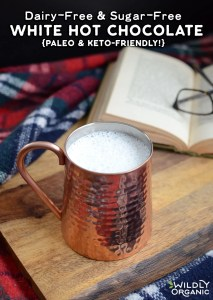 Dairy-Free & Sugar-Free White Hot Chocolate {paleo & keto-friendly!}