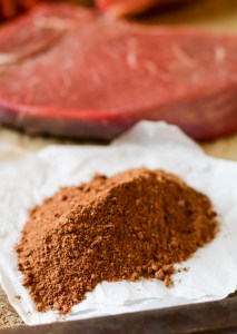 Cacao is no longer only reserved for sweet dishes like brownies and hot chocolate. Have you tried cacao in savory dishes? It brings a depth of flavor to meaty dishes that no other spice can! This Cacao-Spiced Steak Rub will undeniably be the highlight of your next grilling night! Plus, a grilled steak with a simple side dish or healthy salad is an easy dinner any night of the week!