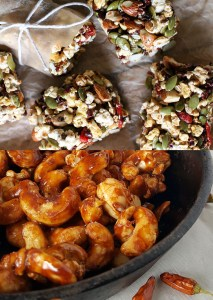 7 Recipes for Healthy Snacks on the Go! {portable and delicious!}