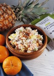 Almost Ambrosia Salad {gluten-free, vegan, paleo, refined sugar free}