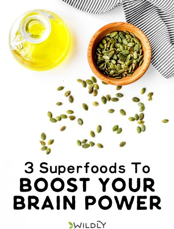 Photo of Olive Oil and Pumpkin Seeds | 3 Superfoods to Boost Your Brain Power | Good nutrition is important for cognitive function. Incorporate these 3 superfoods to boost your brain power into your diet. #realfood #healthylifestyle #healthylife #superfoods #cleaneating #paleo #vegan