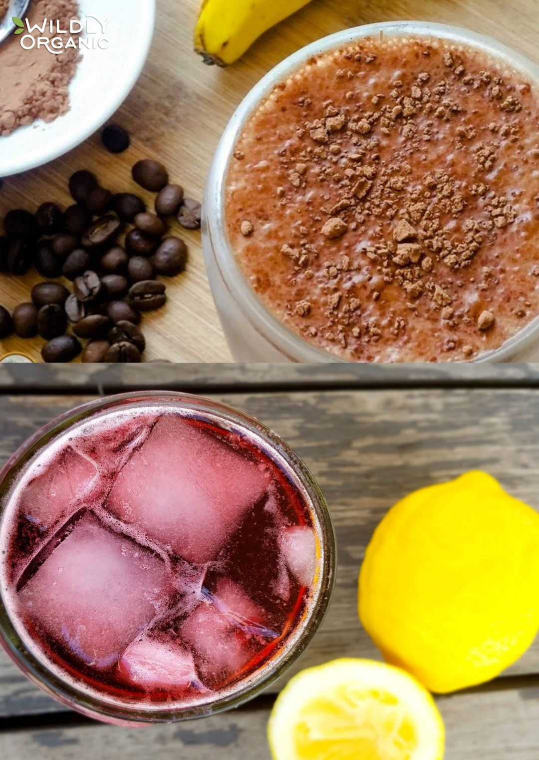 Don't reach for sugar-laden sports drinks, instead make your own refreshing drinks at home that are hydrating, filling and delicious, too. From fruit forward smoothies to refreshing chia frescas, these thirst-quenching drinks for hot days are made with real food ingredients that are good for you and will keep you going all summer long! #drinks #beverages #glutenfree #dairyfree #allergyfriendly