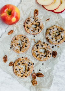 Easy Loaded Apple Slice Snacks {gluten-free, dairy-free, vegan}