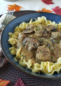 Dairy Free Beef Stroganoff for the Instant Pot