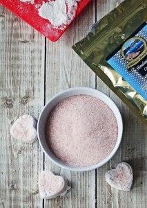 Shimmery Pink Himalayan Salt Bath Bombs