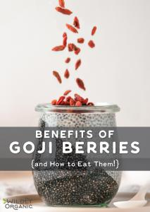 Benefits of Goji Berries {and How to Eat Them!}