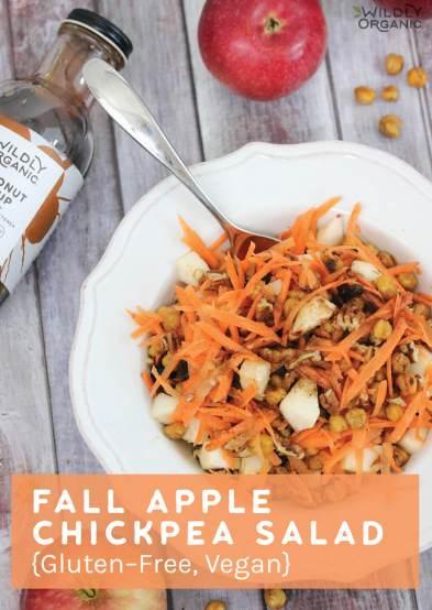 Chickpea and Apple Salad {Gluten-Free & Vegan}