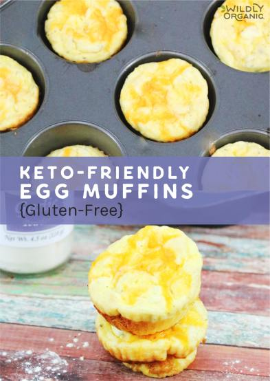 Keto-Friendly Egg Muffins {Gluten-Free}