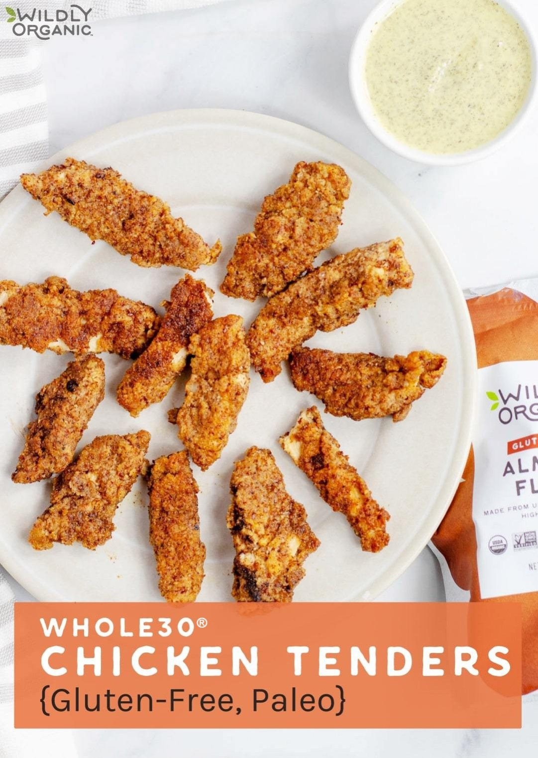Whole30 Chicken Tenders {Gluten-Free, Paleo}