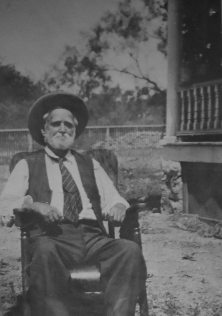 W. J. Wilkinson at Clear Creek, Menard County, Texas.