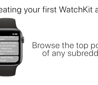 How to make your first WatchKit app