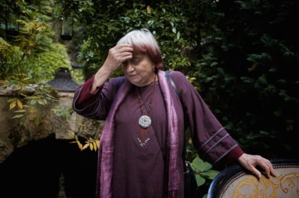 Agnès Varda, film director.