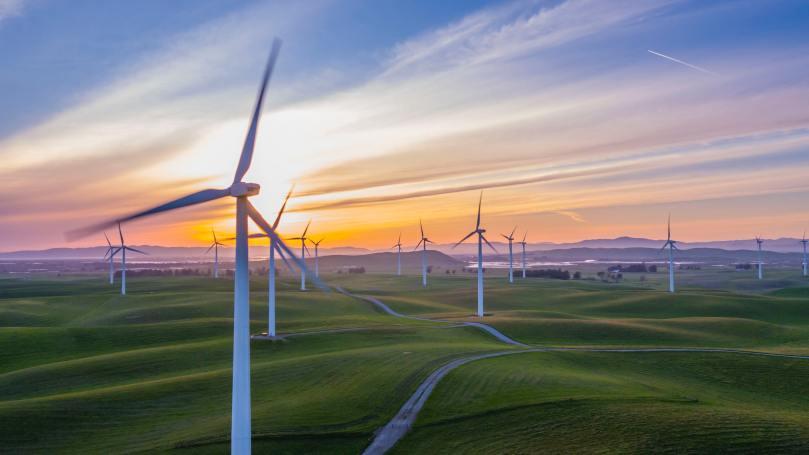 Lorsqu'on conduit par grand vent, au moins le spectacle des éoliennes est ravissant !