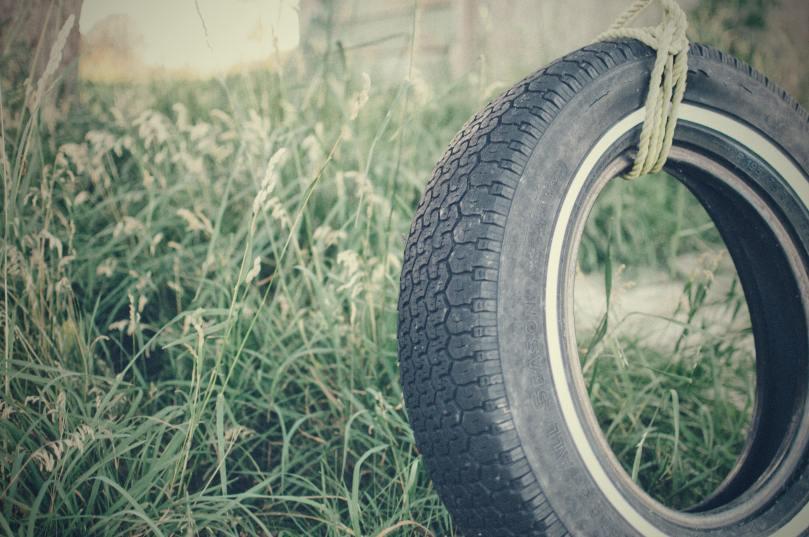 pneu usé