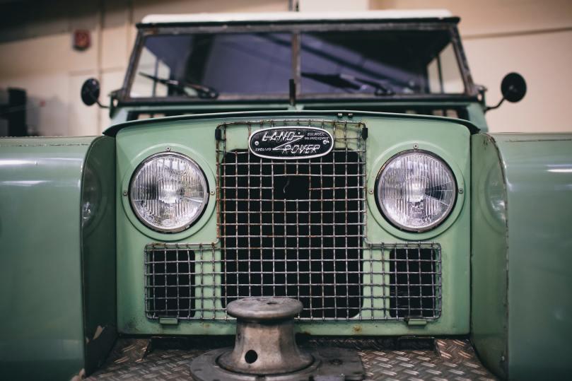 Radiateur de Land Rover
