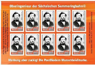 Sonderbriefmarke Guido Brescius
