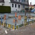 Der Beton kann nun in Ruhe aushärten. Foto: M.Topf