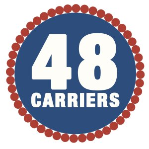 48 Carriers