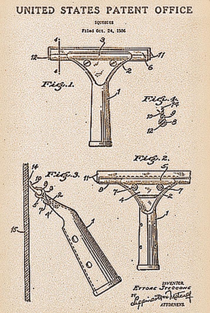 Ettore Squeegee Patent