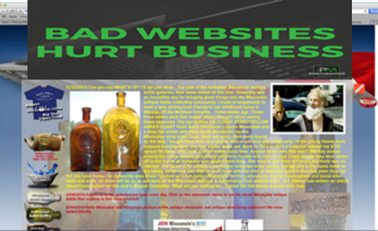 Bad Websites Hurt Business