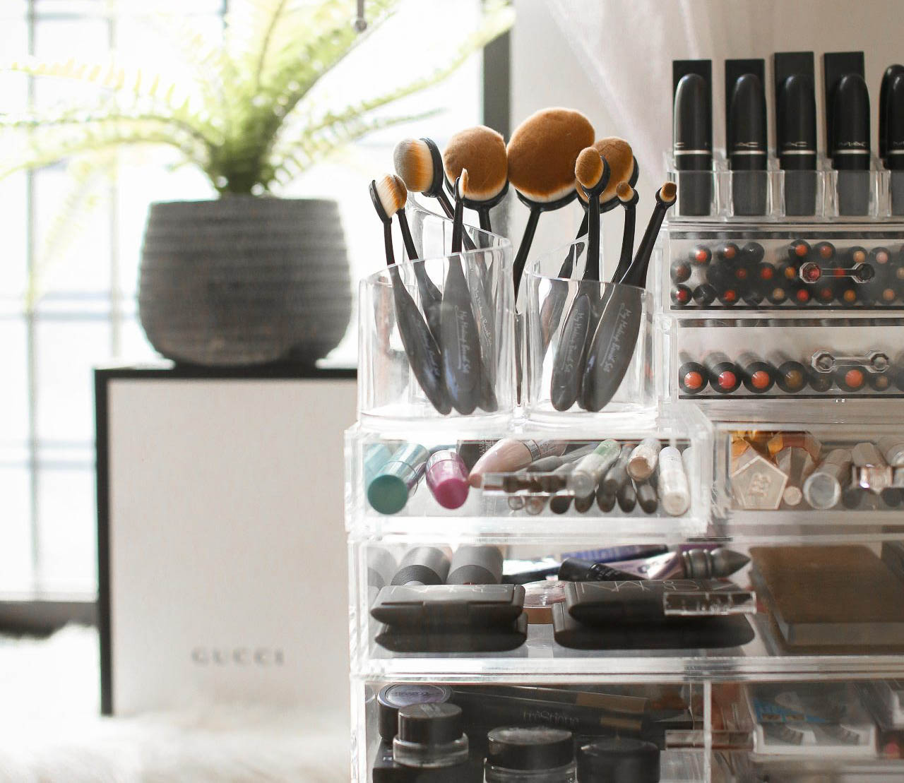 3 Steps to the Ultimate Makeup Storage System with Nkenge