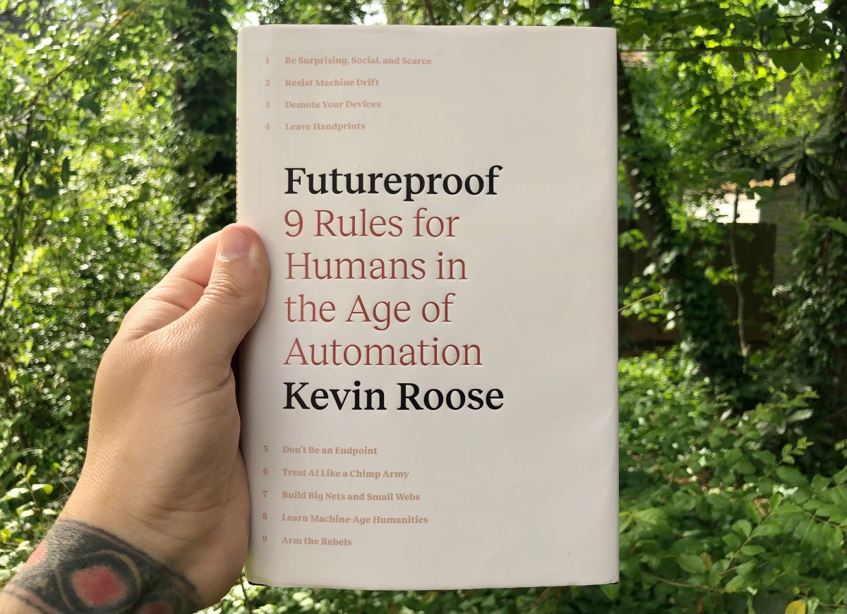 Futureproof book by Kevin Roose