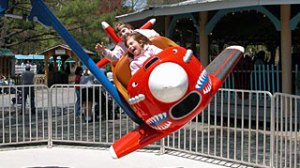 Knoebels has rides for kids of ALL ages!